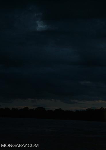 Sunrise over Tambopata