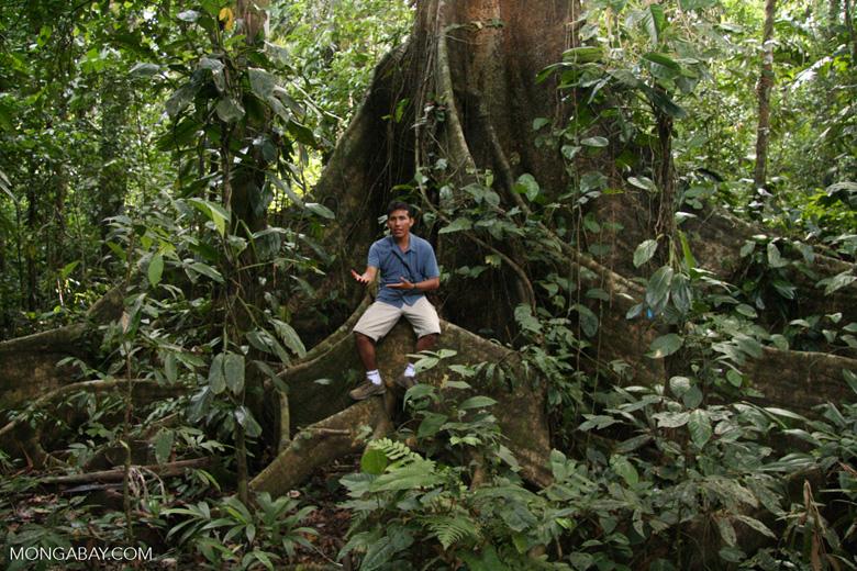 Oscar Mishaja; rainforest guide in the Tambopata region