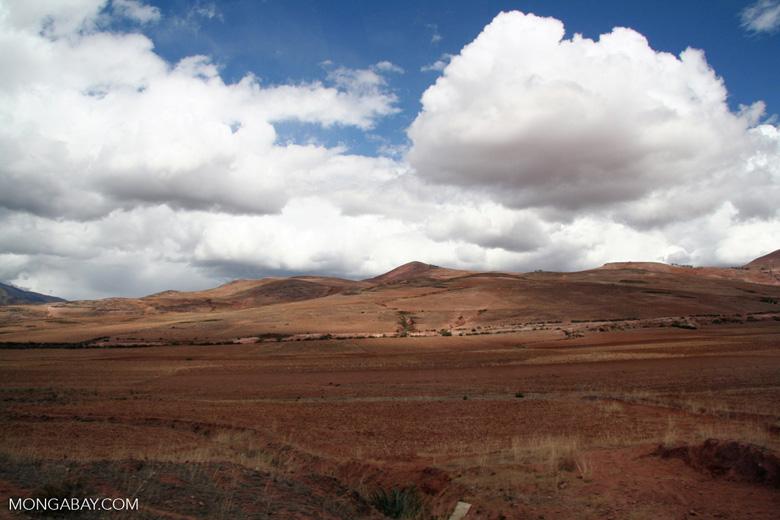 Andean farmland