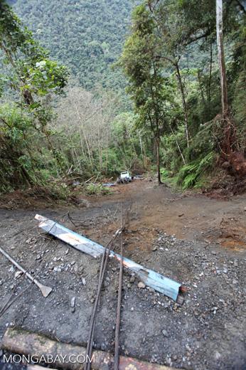 Truck accident in Peru
