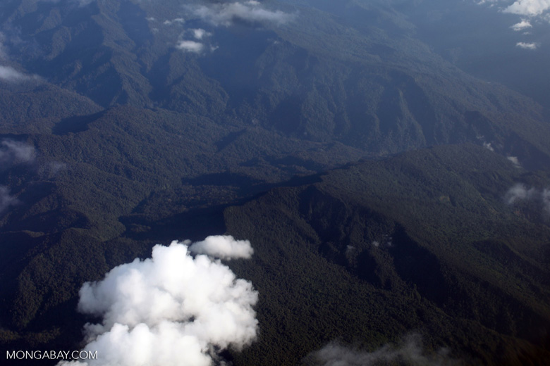 Rugged submontane forest in the Andean foothills of the Amazon [peru_aerial_0862]
