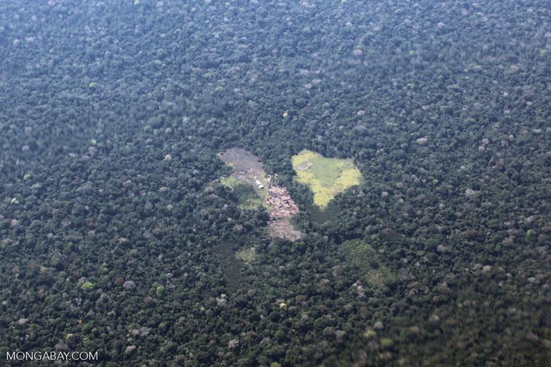Remote Amazon ranch