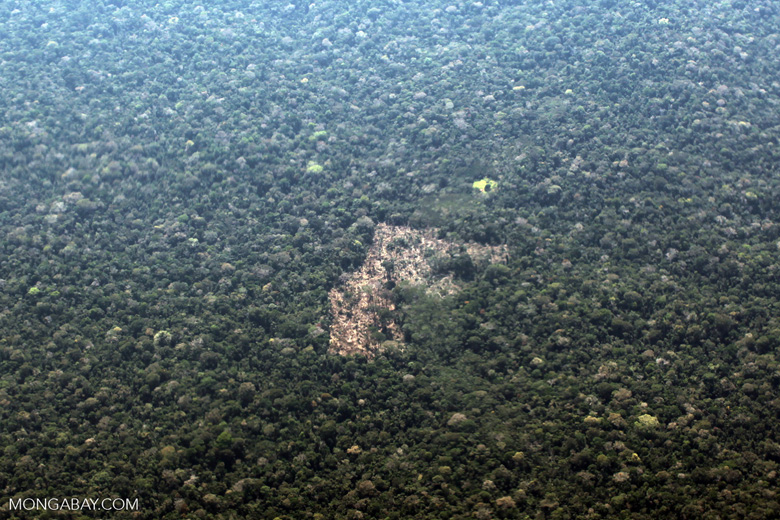 Remote Amazon ranch [peru_aerial_1126]