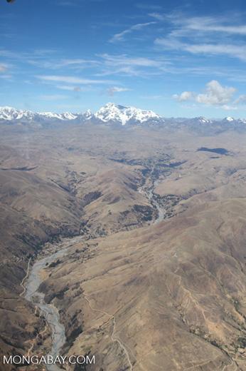 Andes in Peru [peru_aerial_1746]