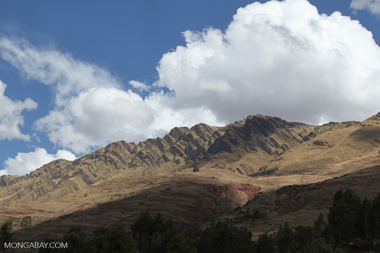 Mountain outside of Cuzco