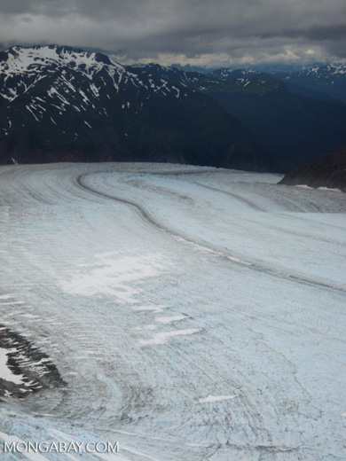 Glacier in Alaska. Photo by Rhett A. Butler.