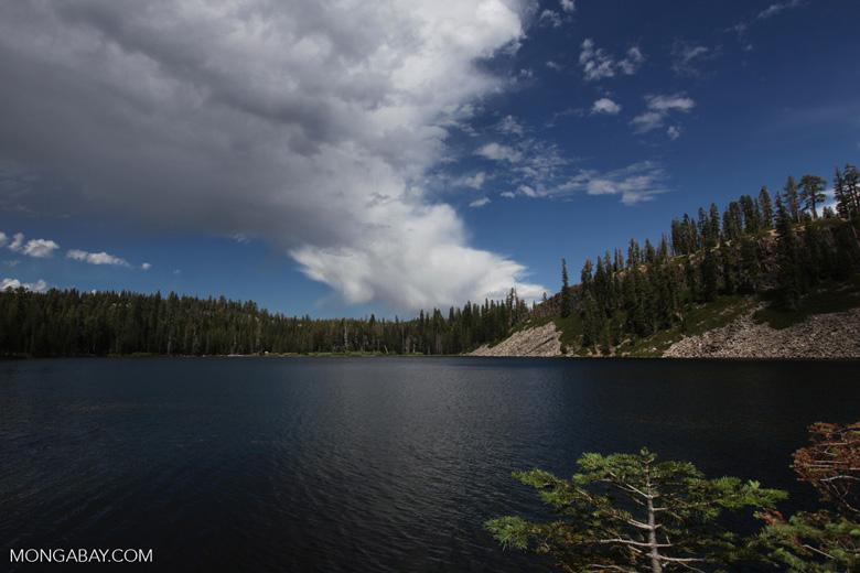 Lake outside Soda Springs