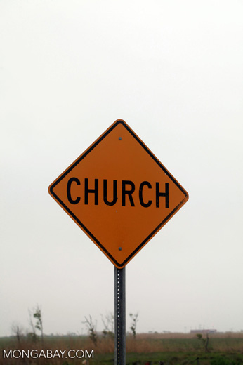 Church street sign