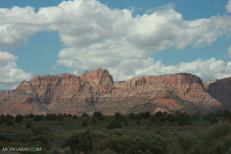 Mountain in southern Utah