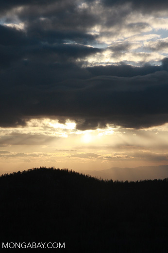 Sunset near Brian Head