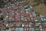 Aerial view of a cluster of homes in San Jose [costa-rica-d_0188]