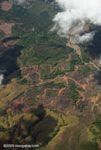 Aerial view of a logged and burned area in Costa Rica [costa-rica-d_0755]