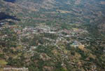 Aerial view of a town outside San Jose