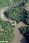 Dam in Costa Rica [costa_rica_aerial_0009]