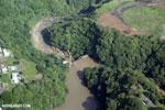 Dam in Costa Rica [costa_rica_aerial_0010]