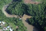 Dam in Costa Rica [costa_rica_aerial_0012]
