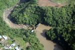 Dam in Costa Rica [costa_rica_aerial_0013]