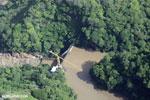 Dam in Costa Rica [costa_rica_aerial_0014]