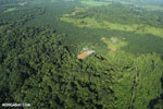 Aerial view of rainforest and oil palm plantations [costa_rica_aerial_0104]
