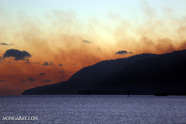 Haze from a forest fire in Australia [australia_fnq_0551]