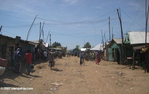 Business district of the Kakuma Refugee Camp