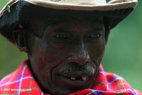 poblador  Purko en Kenia