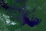 Nasa image of the Brazilian Amazon