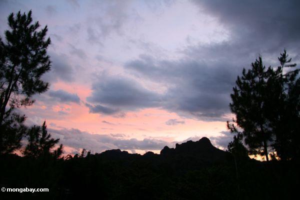 Torajaland sunset (Toraja Land (Torajaland), Sulawesi)