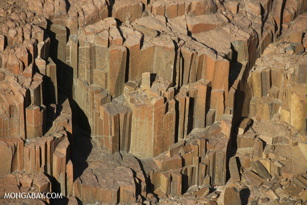 Organ pipes in Damaraland
