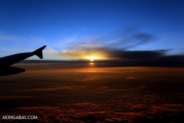 Namib sunset