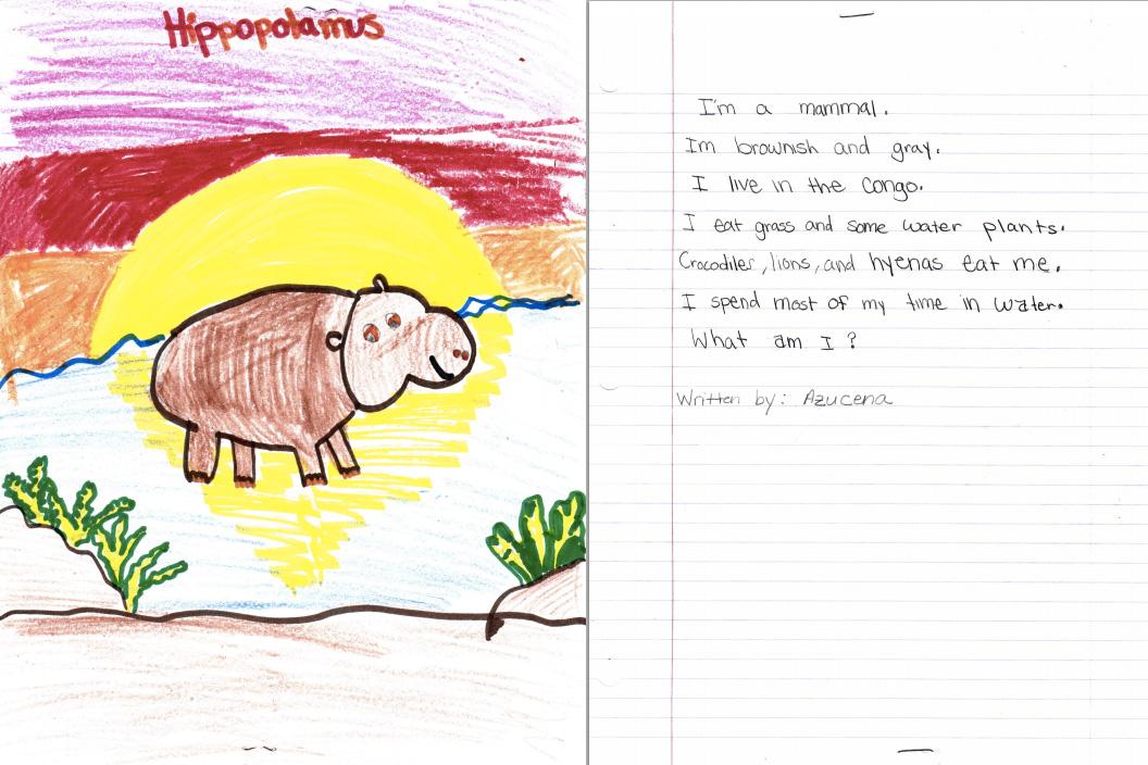 Activity 6 I Am Poems on Third Grade Language Arts
