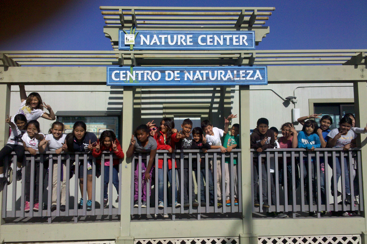 Field trip to The Nature Center at the Watsonville slough