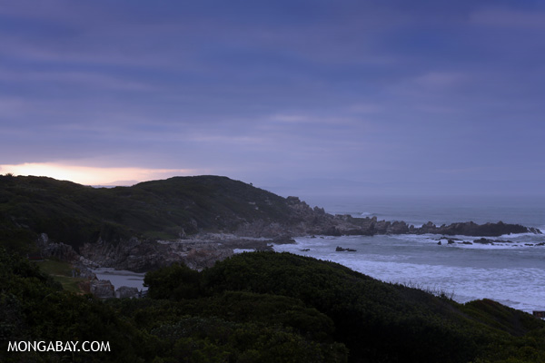 Sunset near Hermanus [south_africa_hermanus_1302]