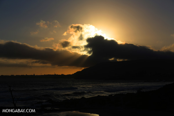 Sunset near Hermanus [south_africa_hermanus_1316]