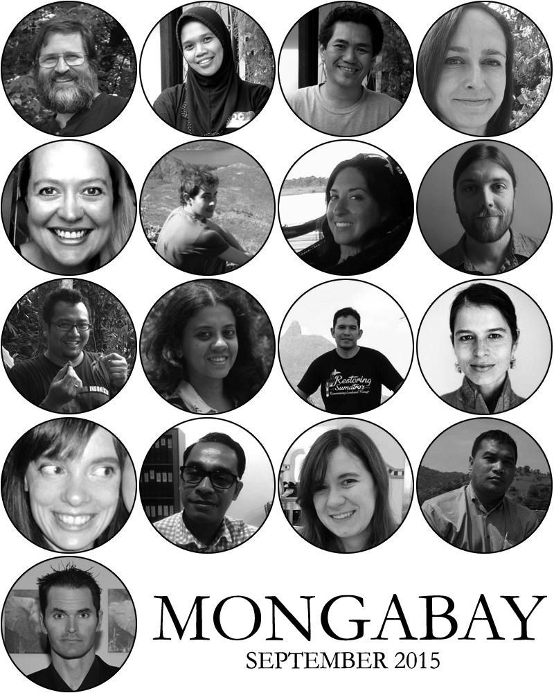 TEAM MONGABAY - SEPTEMBER 2015
