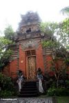 Puri Saren Agung is a large palace located at the intersection of Monkey Forest and Raya Ubud roads (Ubud, Bali)
