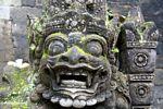 Statue at Puri Saren Agung (Ubud, Bali)
