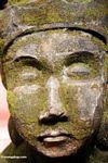 Stone face at Puri Saren Agung palace (Ubud, Bali)