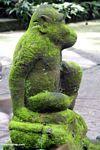 Monkey statue in Monkey Forest (Ubud, Bali) -- bali8121