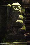 Temple statue (Ubud, Bali) -- bali8159