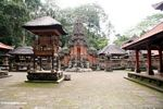 Courtyard at the Enchanted Monkey Forest (Ubud, Bali) -- bali8189