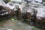 The water maidens of the courtyard fountains at Goa Gajah (Ubud, Bali)
