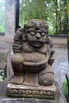 Squat statue at Elephant Cave (Ubud, Bali)