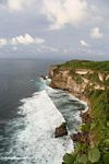 Dramatic seaside cliffs of Uluwatu (Jimbaran, Bali