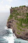 Dramatic cliffs of Uluwatu temple in Bali (Jimbaran, Bali