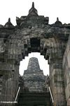Archway at Borobudur (Java)