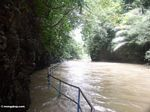 Flooded trail at Bantimurung (Sulawesi - Celebes)