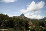 Mountain peak in South Sulawesi (Sulawesi - Celebes)