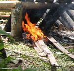 Fire (Toraja Land (Torajaland), Sulawesi) -- sulawesi6783