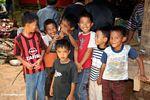 Kids at funeral in Toraja land (Toraja Land (Torajaland), Sulawesi)
